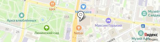 Ели & Пели на карте Казани