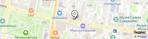 АК БАРС ПЕРСОНА на карте Казани