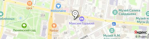 Курорты на карте Казани