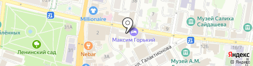 Фортуна-Тур на карте Казани