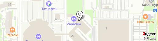 Sporty People на карте Казани