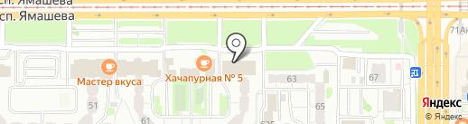 Ночлежка на карте Казани