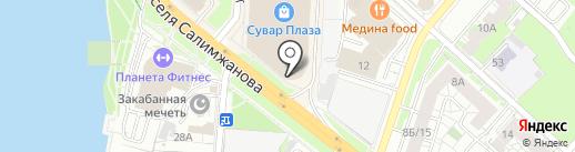 МАРС на карте Казани