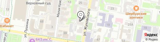 Ньютон на карте Казани