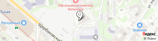 BADD на карте Казани