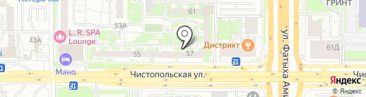 MIAMI на карте Казани