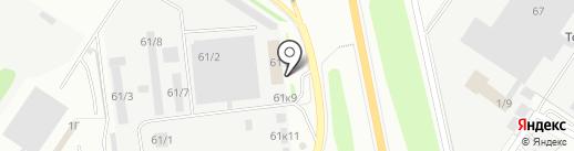 АЯЗ-АВТО на карте Казани