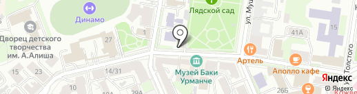 Марусовка на карте Казани