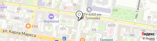 Формат на карте Казани