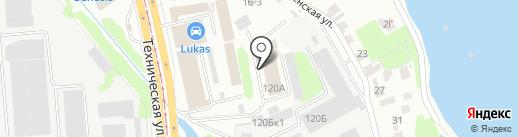 Trikams на карте Казани