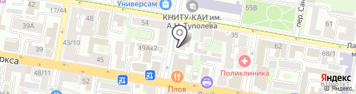 Мастер Пицца на карте Казани