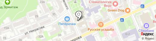 DOM на карте Казани