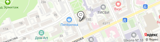 Казань на карте Казани