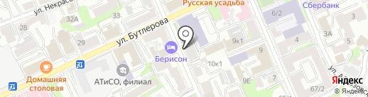 Флоранс на карте Казани