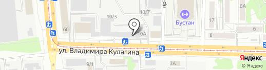 Прогресс Ямобур на карте Казани