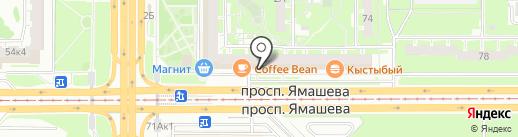 Я тур на карте Казани