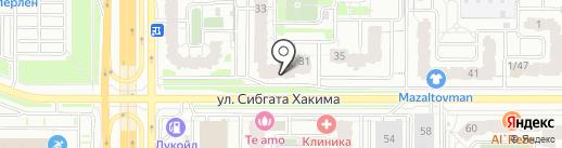 ГСИ-Гипрокаучук на карте Казани