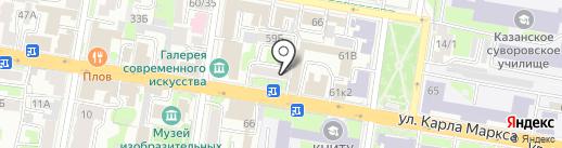 Legend Media на карте Казани