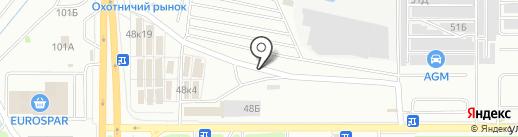 Matrix на карте Казани