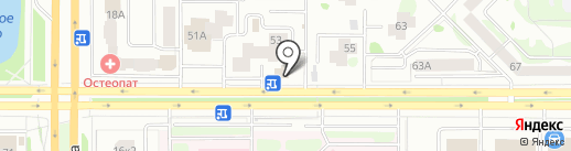 Магазин медицинской одежды на карте Казани