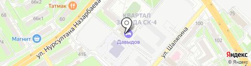 Премьера тур на карте Казани