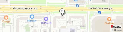 SI на карте Казани