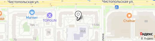 БЕТОНДОРСТРОЙ на карте Казани