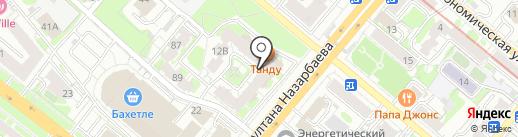 ГРАНЖ на карте Казани
