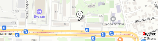 Кадастровое дело на карте Казани