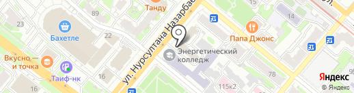 Успех на карте Казани