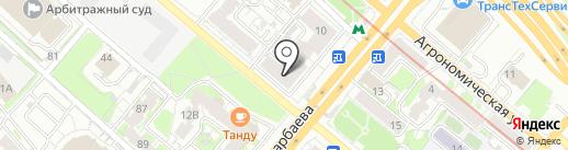 ГОРСТРАХ на карте Казани