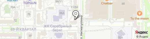 Форте на карте Казани