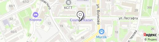 Триумф на карте Казани