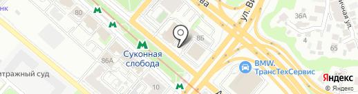 Bunker Studio на карте Казани
