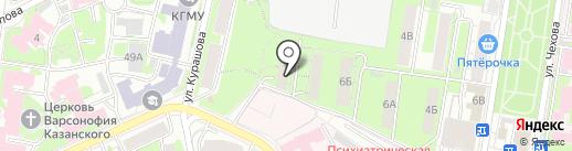 Поволжская каркасная компания на карте Казани