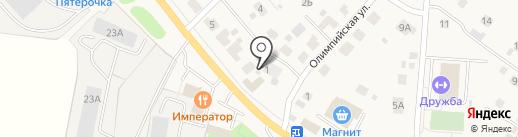 Фельдшерско-акушерский пункт на карте Песчаных Ковалей