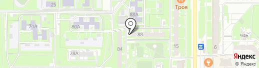 Мистер Чек на карте Казани