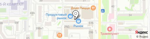 Антилопа Капика на карте Казани