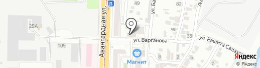 Фон бет на карте Казани