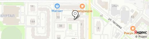 Преодоление на карте Казани
