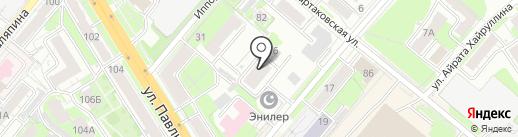 Диния, ТСЖ на карте Казани