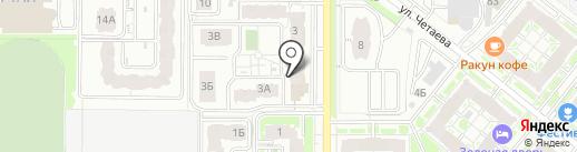 Квартиры РТ на карте Казани