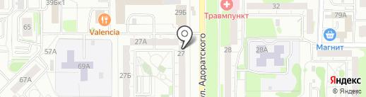 Filetto на карте Казани