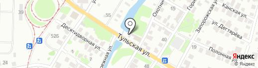 Шиномонтажная мастерская на карте Казани