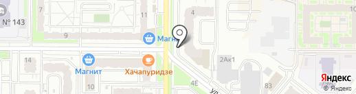Time Nails на карте Казани