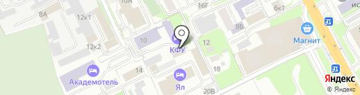 Огурец на карте Казани