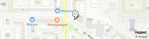 Lounge Port на карте Казани
