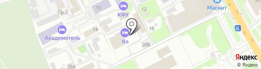 Carcade Лизинг на карте Казани