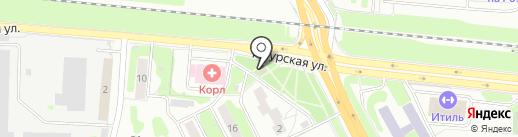 Магазин цветов и подарков на карте Казани