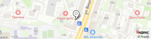 Донер сити на карте Казани